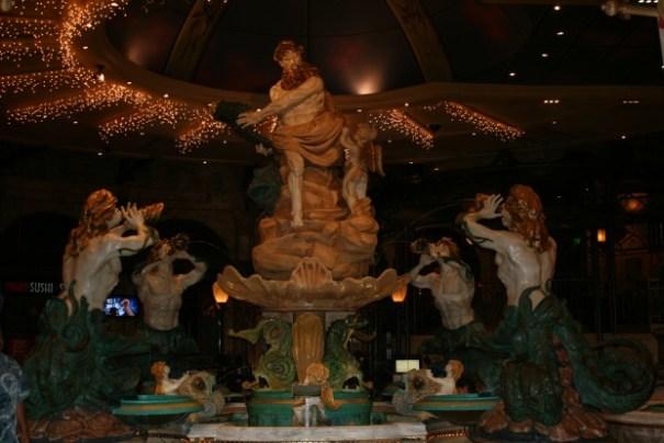 Fountains in the El Dorado Casino