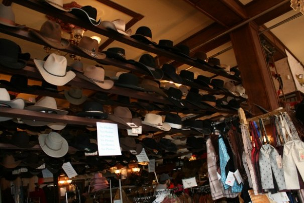 "I bought a really Stetson here years ago.  Edie and I walked in and I said, ""Take a picture of the hats."" She did, and people looked around to see who did it.  There must have been 20 signs saying ""NO PHOTOS"""