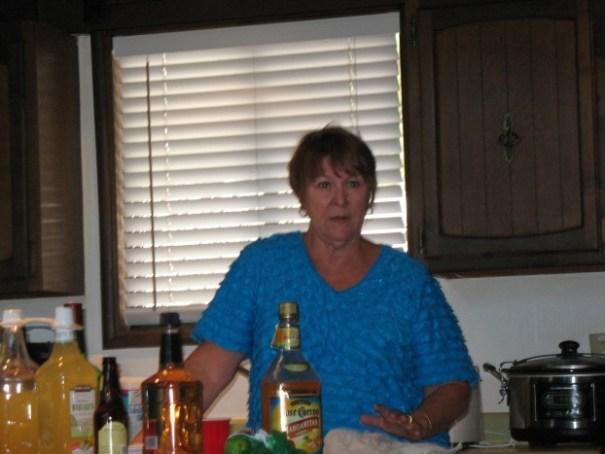 Beloved sister Sharon