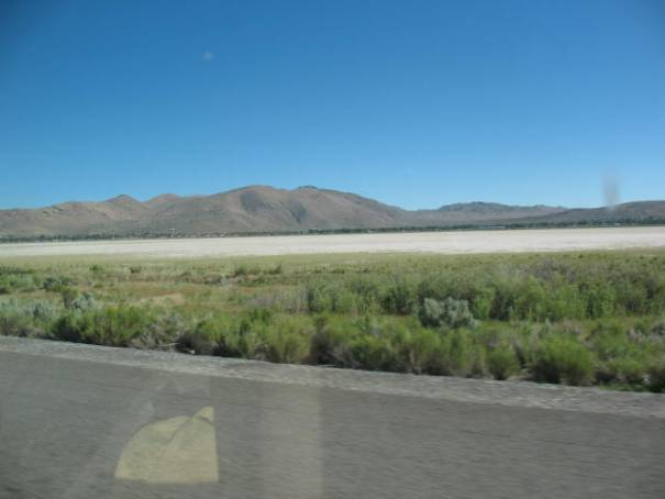 Dry Lake bed, used to be full of water years ago when I used to pass this way.