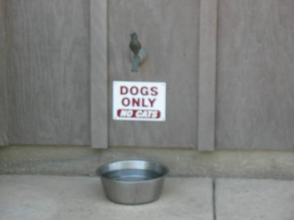 Cute sign at the Heritage Oak Winery.