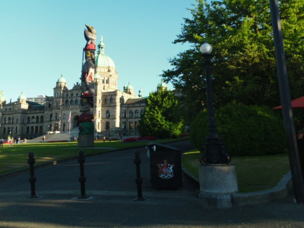 Capitol Building and Totem Pole.  We plan to tour here too.