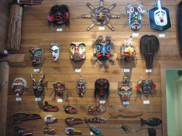 Masks for sale, prices ranged from $800. to $4,900.