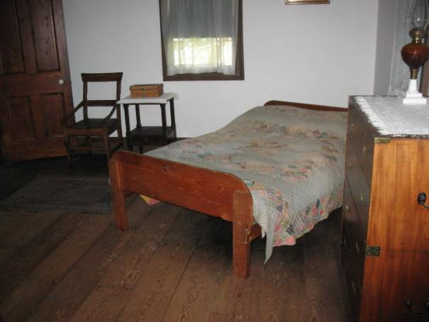 The bed the good Dr died in at age 96.