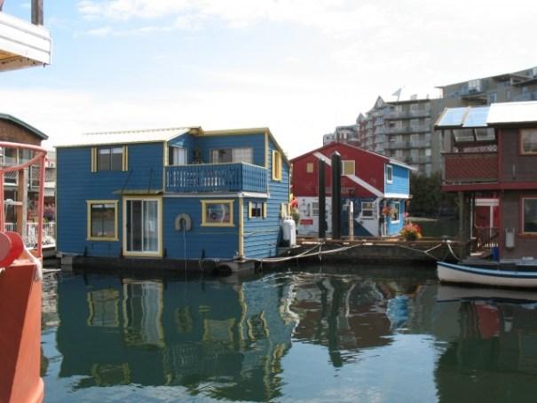 Float house neighborhood.
