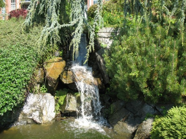 Waterfalls abound on this property. 1 of 3