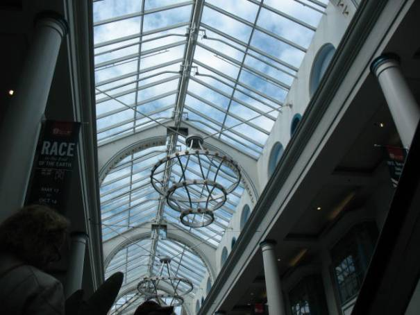 Mall skylight