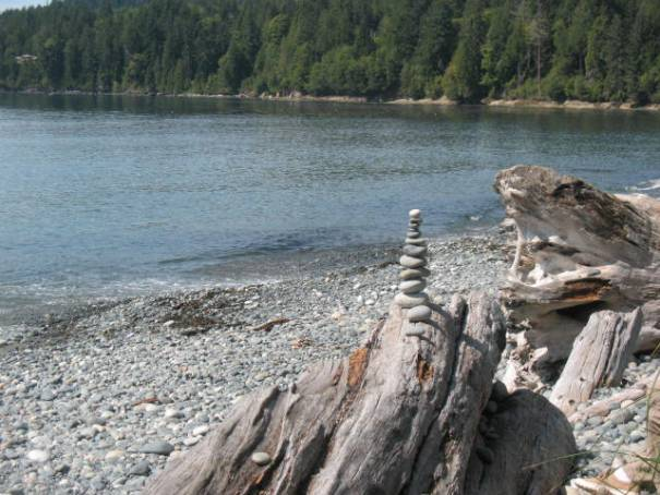 More stacked rocks.