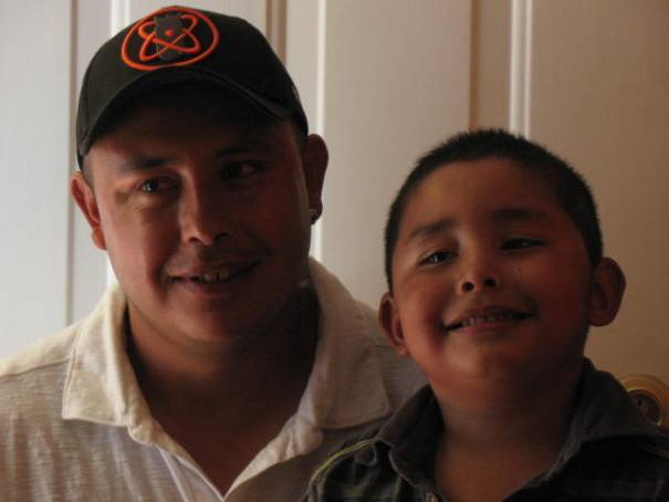 Our friends Rodrigo and Dylan