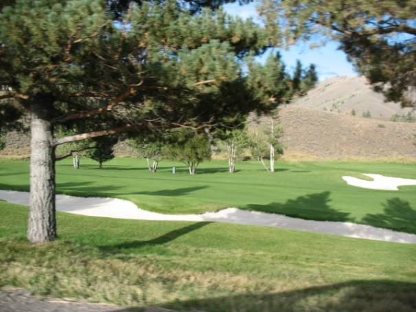 Golf courses abound in Ketchum, ID.