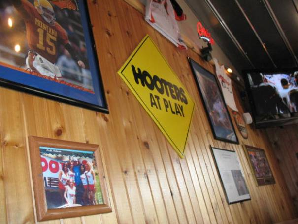 My first visit to a Hooters.  Don't know why I waited so long.