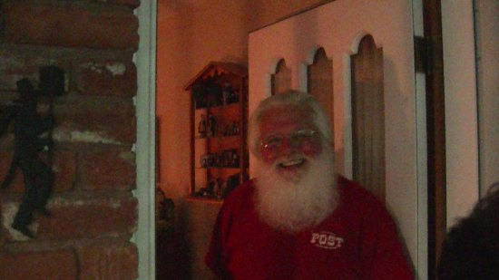 Terry, aka, Santa (in New Jersey).  The other half of the collector extraordinaire team.