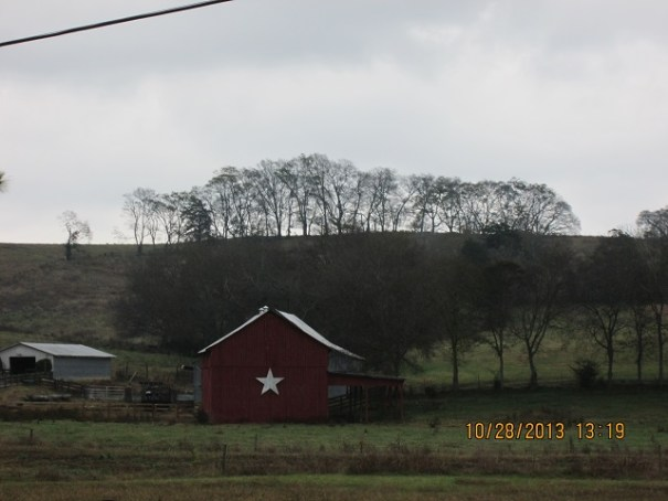 Nice country side on today's drive.