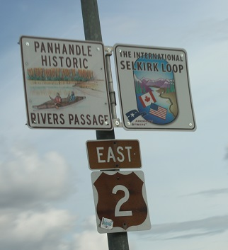 Historic highway signs.