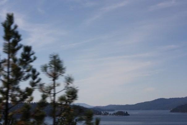 Goodbye Lake Couer d'Alene.