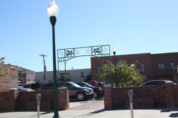 Fort Smith, Arkansas, a pretty town with lots of brick.