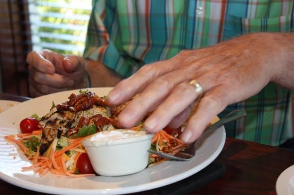 Uncle Claude's Chicken Pecan Salad.