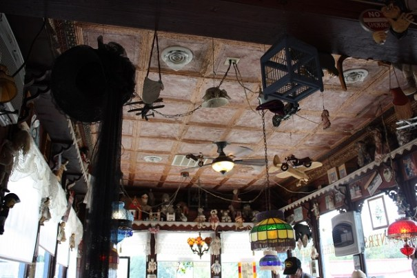 Corner Booth Ceiling