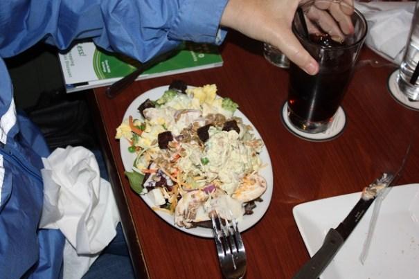 Edie's salad.
