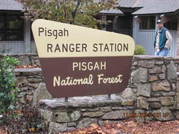 Ranger station.