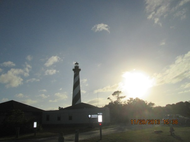 Cape Hatteras Light Station.