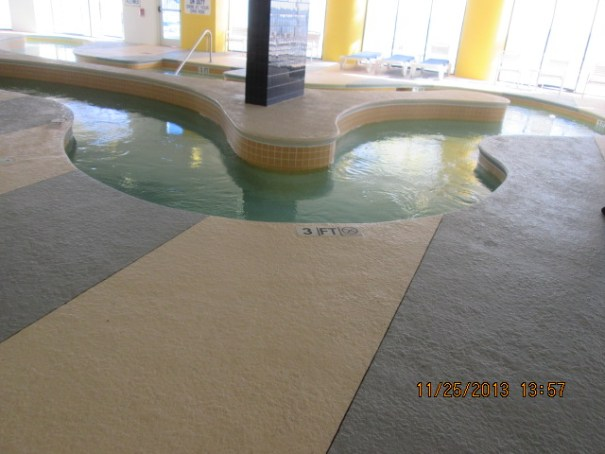Looked like a fun indoor lazy river.