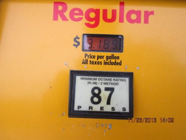 $3.19 per gallon.