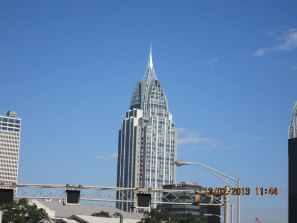 Beautiful building in Mobile, Alabama.