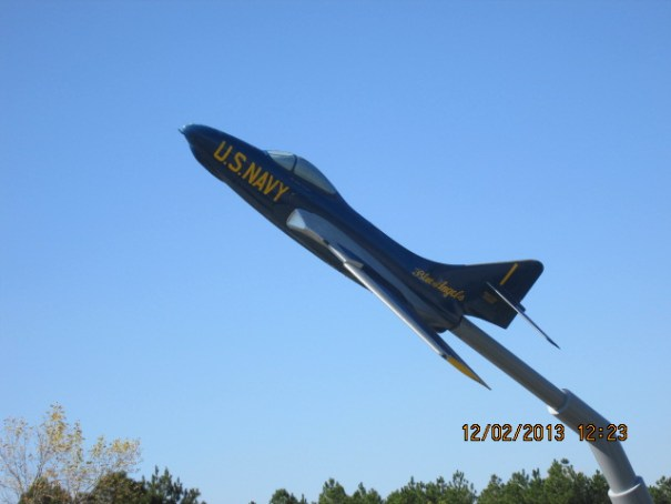 Home of the Blue Angels.