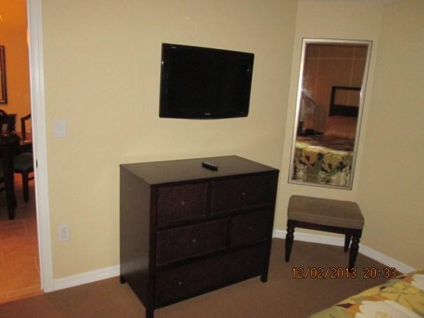 Bedroom tv.