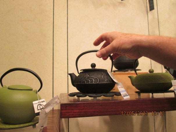 One of my favorites, Japaneses tea pots.