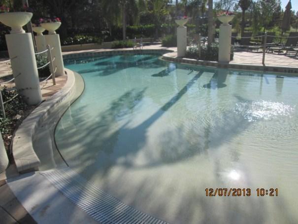 Really nice pools.