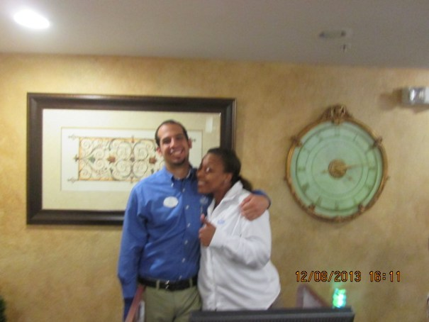 Carlos and Brandi, wonderful!
