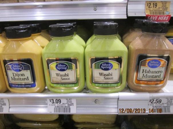 Mustards too.