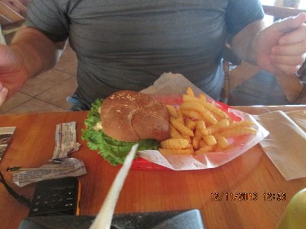 My Veggie Burger.