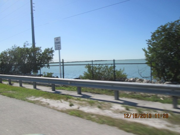 "Once you hit the southern tip of Florida it is all about the water, bridges and islands, called ""keys"" here."