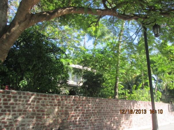 Hemingway's house.