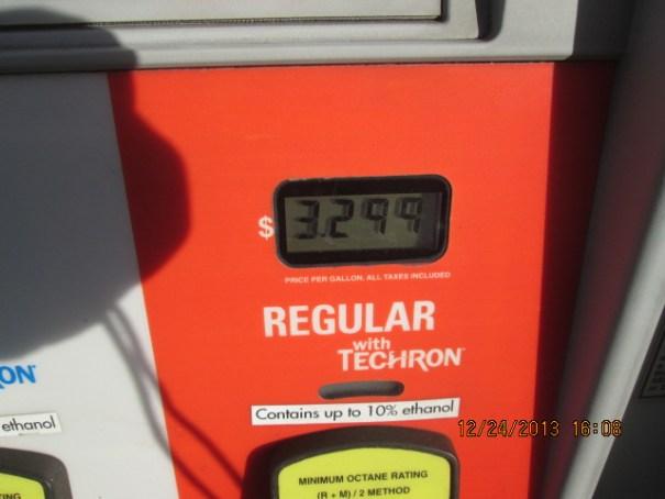 $3.30 a gallon.