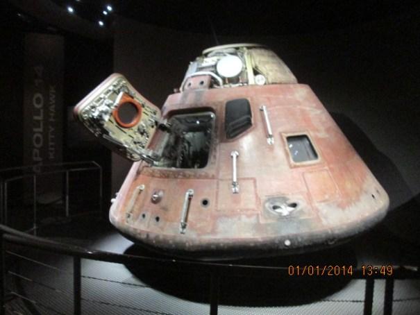 Actual capsule.