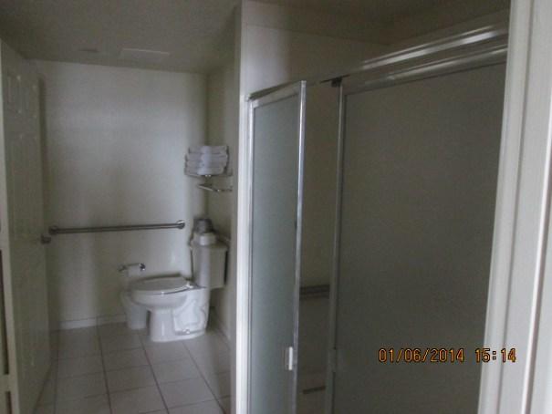 Lex's bathroom.