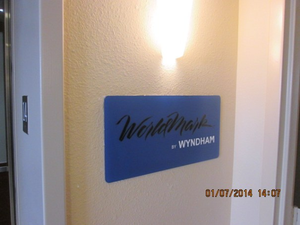 Two of the twenty five floors belong to Worldmark.