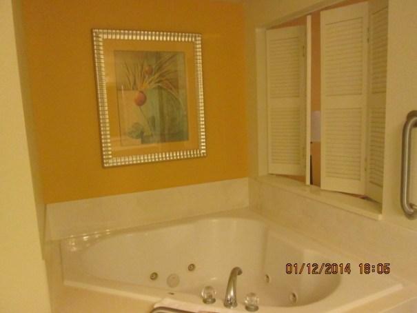 Edie's tub.