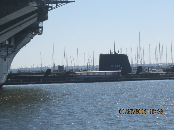Looks like a submarine parked here as well, will save for another day.