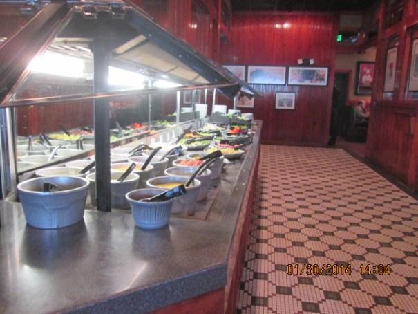 Ruby Tuesday Salad Bar.
