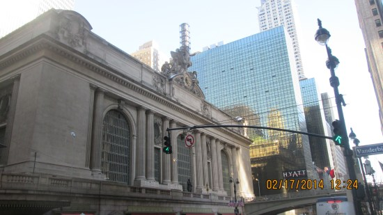 Bumped into Grand Central Station.