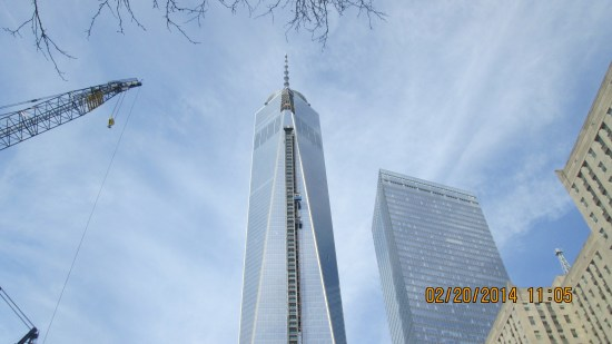 One, World Trade Center.