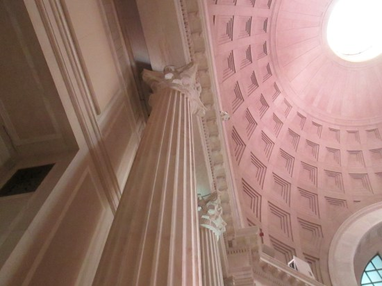 Great dome ceiling.
