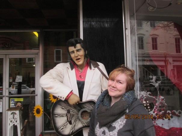 Lex even ran into Elvis.