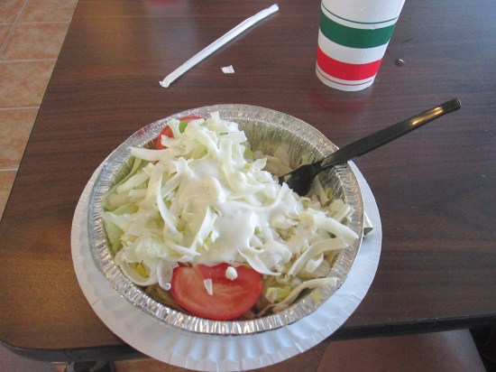 My salad.
