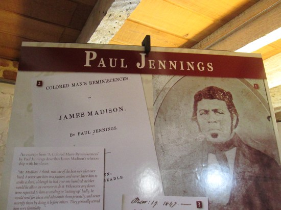 """Paul Jennings heard Madison's last words.  A neice asked, """"Whats wrong uncle?""""  Madison said, """"Just a change of mind dear."""" and slumped over peacefully dead."""